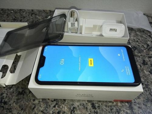 celular xiaomi redmi mi a2 lite 4g dual 64gb 4gb ram + capa