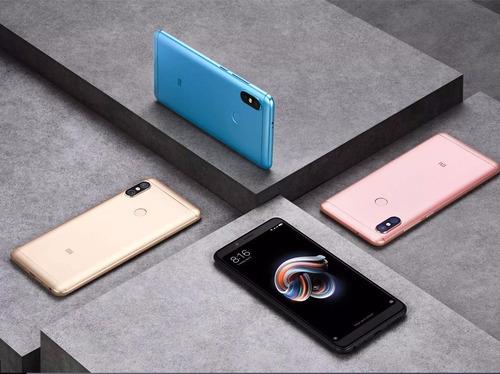 celular xiaomi redmi note 5 64gb 4g ram + case película nfe