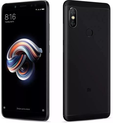 celular xiaomi redmi note 5 64gb 4gb 5.99 pelicula capa 12x