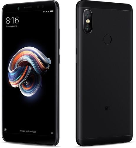 celular xiaomi redmi note 5 64gb/4gb capa + película vidro