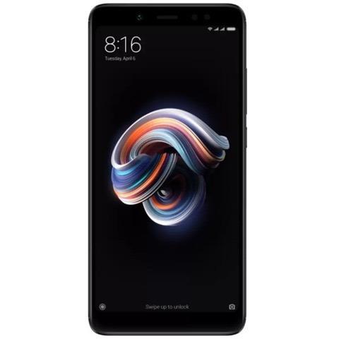 celular xiaomi redmi note 5 black 64gb 4g ram c\nota lacrado