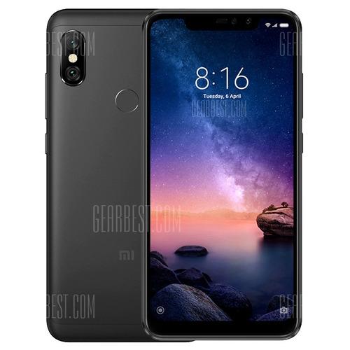 celular xiaomi redmi note 6 pro 32gb 3gb +capa+película+fone