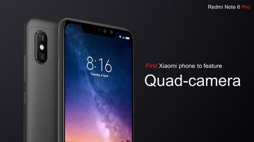 celular xiaomi redmi note 6 pro 64gb 4ram 4g lte dual global