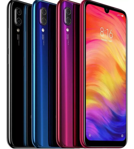 celular xiaomi redmi note 7 128gb camara 48mp + 13mp ram 4gb