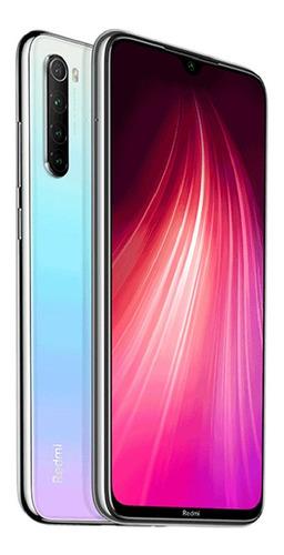celular xiaomi redmi note 8 /64gb/48mp/4ram + forro y vidrio