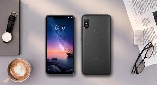 celular xiaomi redmi note6 pro 32gb 3 ram+capa + nota fiscal