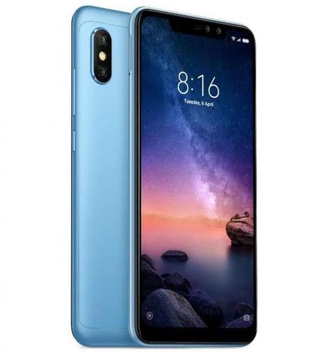 celular xiaomi redmi note6 pro 64g 4g global+capa+2 pelicula