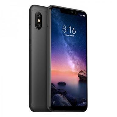 celular xiaomi redmi note6 pro 64gb global 4g+capa+2pelicula