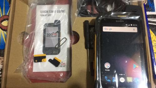 celular xp7 antiexplosivo marca sonim reconocida ip69 nuevo