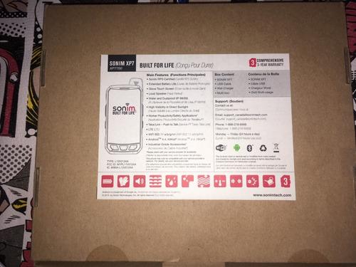 celular xp7 antiexplosivo sonim reconocida ip69 reciclado