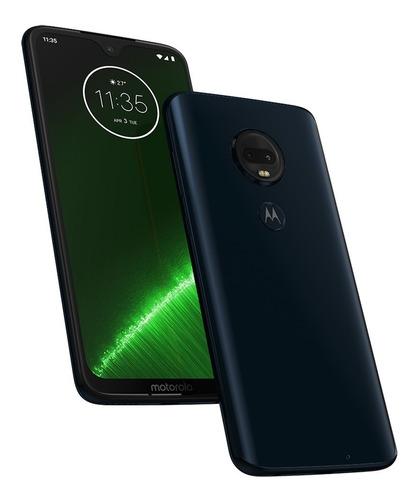 celular xt1965-2 moto g7 plus 64gb android pie 9.0 dual chip