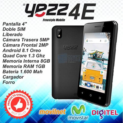 celular yezz 4e nuevo liberado tienda física garantia