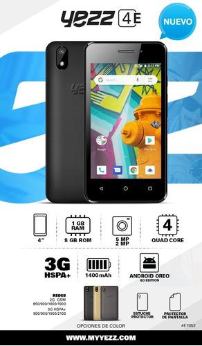 celular yezz 4e7 android 8.1 go 3g movistar digitel movilnet