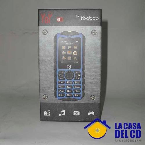 celular yoobao yoy liberado dual sim. nuevo.