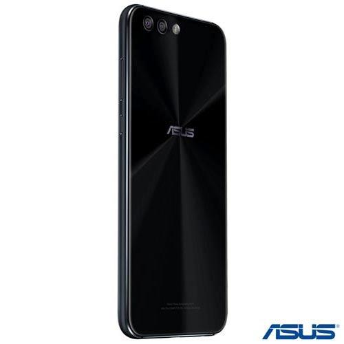 celular zenfone 4 preto asus tela 5,5  4g 64gb 6gb ze554kl
