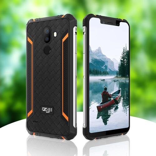 celular zoji z33 -gps dualsim 4g wifi office ip68 ip69 / blu