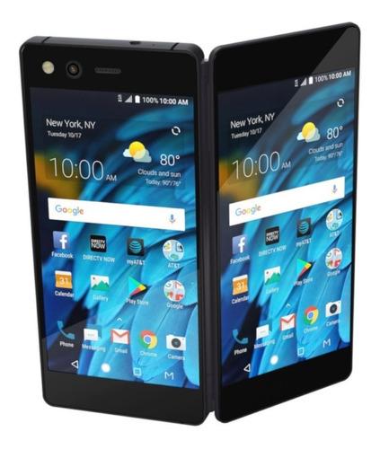 celular zte axon m lte 5,2 ips 64gb doble pantalla! amv