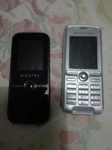 celulares alcatel y sony ericsson para repuesto