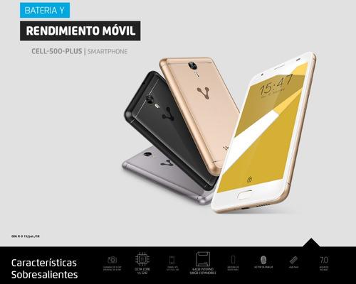 celulares baratos android 5.5 ips 64gb liberado vorago plus
