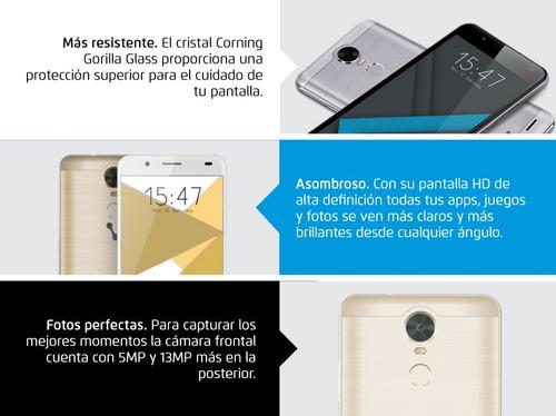 celulares baratos android 6.0 16gb 5.5 ips 500-v2-pl vorago*