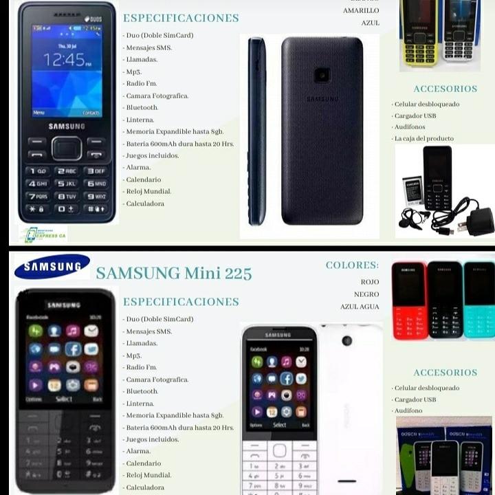 Alarma Calendario Samsung.Celulares Basicos Samsung