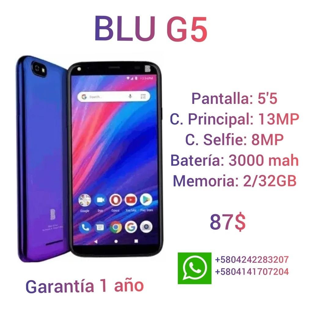 Celulares Blu G5 - Bs. 28.710.000,00 en Mercado Libre