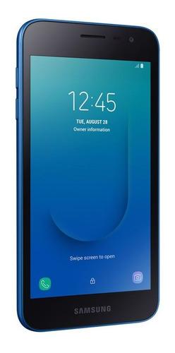 celulares - celular samsung galaxy j2 core azul 16gb  geb-jb