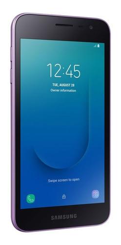 celulares - celular samsung galaxy j2 core purpura 16 geb-jb