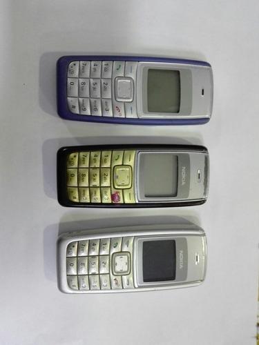 celulares nokia linea 1100claro 3x$1399 listos para usar