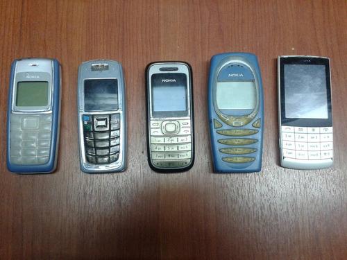 celulares nokia usados para colección o repuestos