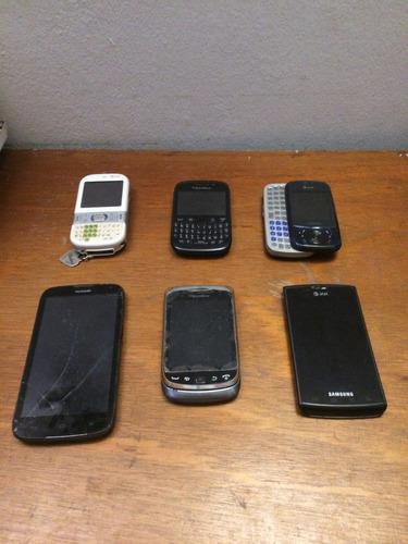 celulares para respuestos blackberry, huawei