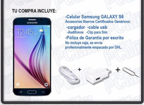 celulares samsung galaxy s6 64gb 100% originales! garantía