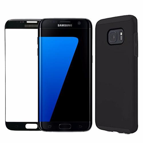 celulares samsung galaxy s7 edge + case + vidrio templado
