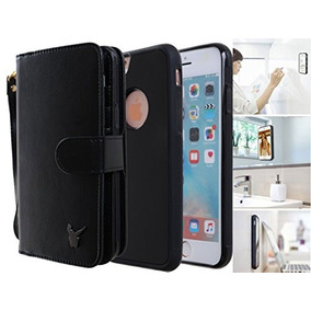 38183aab8be Funda Cartera Antigravedad Para Iphone 6s Plus, Cuero De Vac