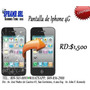 Cambio De Pantalla Para Iphone 4g Trabajo Garantizado