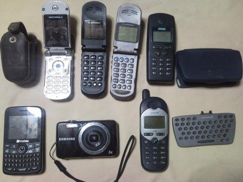 celulares y camara para repuestos en subasta