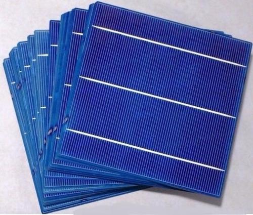 células placa solar fotovoltaica 156 x 156 poli 100 unidades