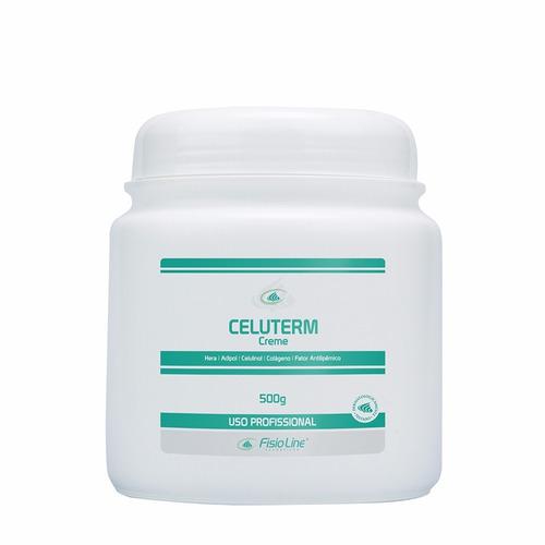 celuterm - creme para celulite - fisioline cosméticos 500gr