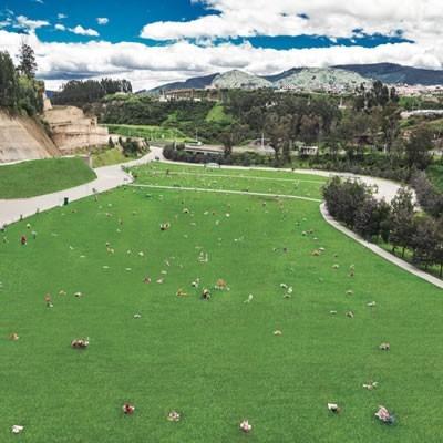 cementerio jardines del valle espacio triple - los chillos