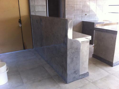 cemento alisado, microcemento, micropiso