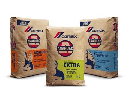 Cemento cemex anahuac en mercado libre for Precio del mercado de concreto encerado