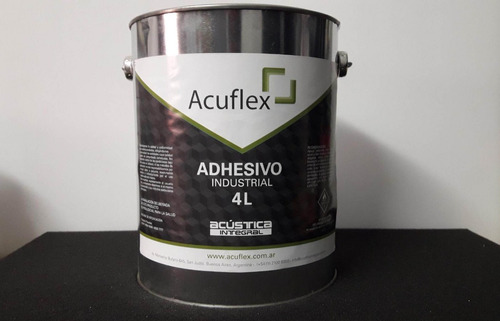 cemento de contacto adhesivo x 1l acuflex (calidad prof.)