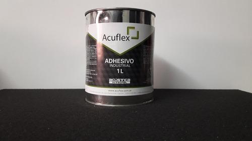 cemento de contacto adhesivo x 4l acuflex (calidad prof.)