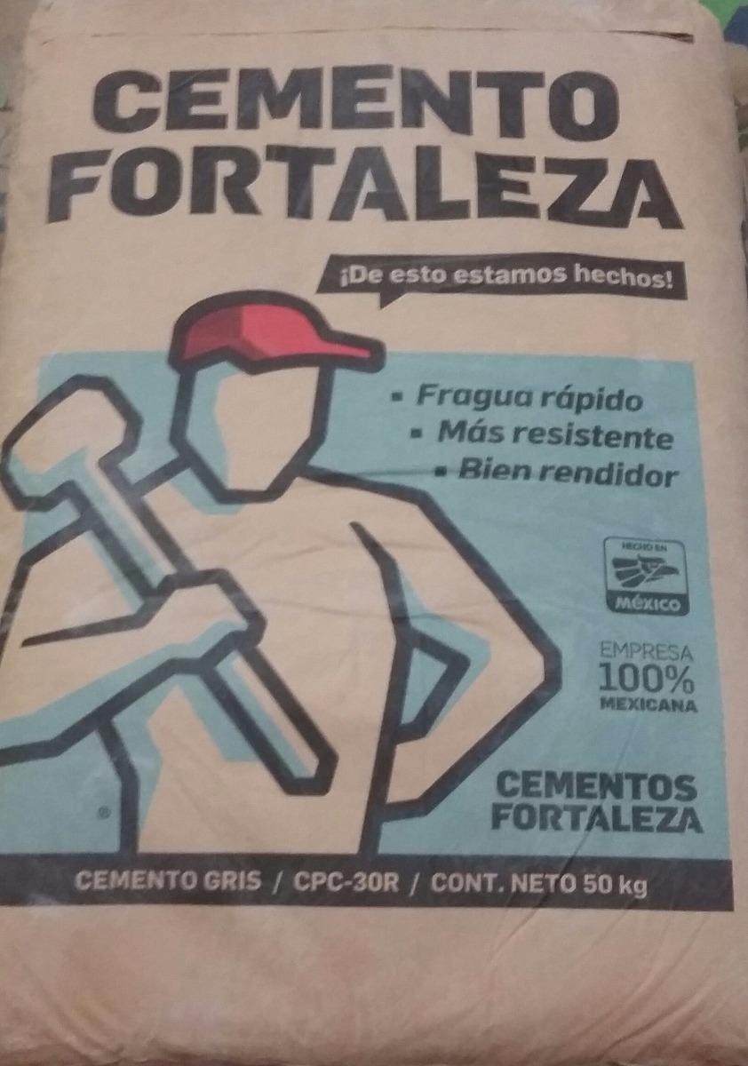 Cemento fortaleza anahuac monterrey material de - Cemento blanco precio ...