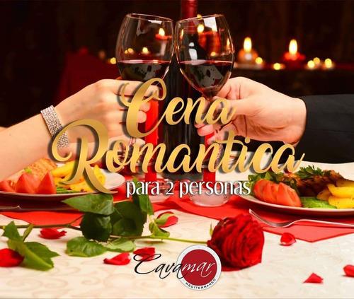 cena romántica en restaurante cavamar