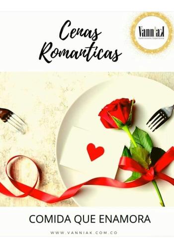 cenas romanticas a domicilio
