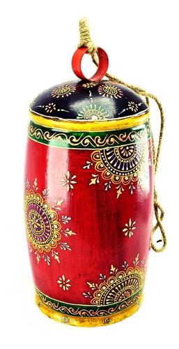 cencerro hindú llamador deco pintado 129.tr129