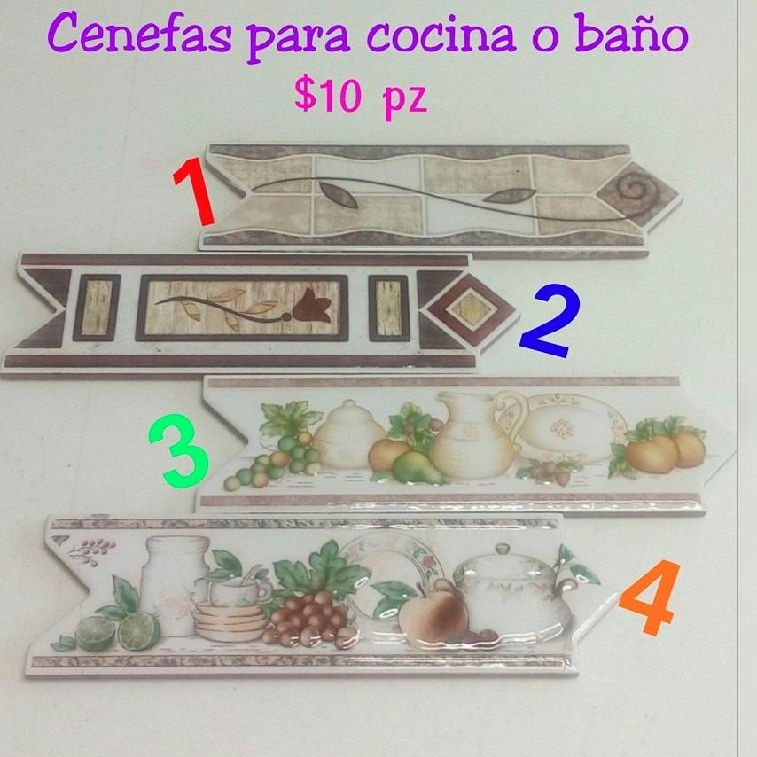 Cenefa de cer mica para cocina o ba o 8 x 25 cm for Cenefas ceramica