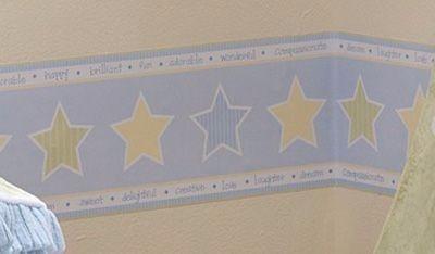 cenefa decorativa de estrellas lista para instalar