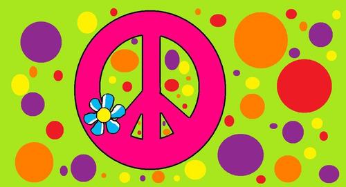 cenefas adhesivas decorativas símbolos de la paz